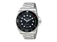 Gucci Dive 45Mm Bracelet Ya136208 Steel Black Watches Blue