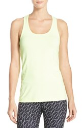 Women's Zella 'Racer' Tank Green Ice