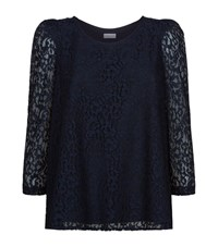 Claudie Pierlot Banc Lace Swing Top Female Black