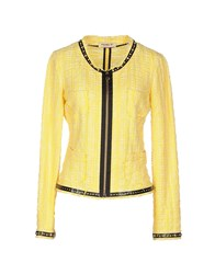 Met And Friends Suits And Jackets Blazers Women Yellow