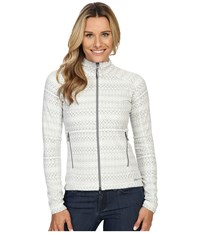 Marmot Rocklin Full Zip Jacket Soft White Alps Women's Clothing