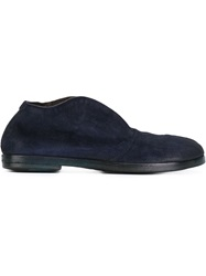 Marsell Marsell Distressed Loafers Blue