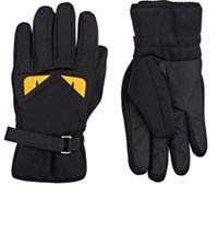 Fendi Men's Buggies Ski Gloves Black