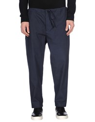 Umit Benan Trousers Casual Trousers Men Dark Blue