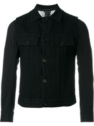Ann Demeulemeester Patch Pocket Jacket Black