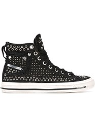 Diesel 'Exposure' Hi Top Sneakers Black