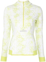 Adidas By Stella Mccartney 'Essential' Running Hoodie Yellow And Orange