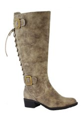 Intaglia Stockton Wide Calf Riding Boot Wide Width Available Gray