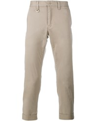 Sophnet Cropped Cotton Chinos Beige White