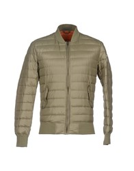 Bomboogie Coats And Jackets Down Jackets Men Military Green