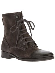 N.D.C. Made By Hand Lace Up Ankle Boot Grey