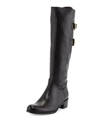 Sesto Meucci Barbara Leather Knee Boot Black