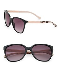 Sam Edelman 64Mm Square Wayfarer Sunglasses Black