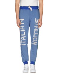 Happiness Trousers Casual Trousers Men Blue