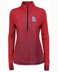 Majestic Women's St. Louis Cardinals Believe And Succeed Pullover Red
