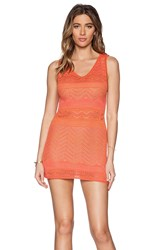 Goddis Jasper Mini Dress Orange