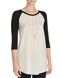Michelle By Comune Mojave Desert Baseball Tee Clay Black