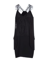 Annarita N. Short Dresses Black