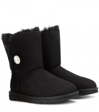 Ugg Bailey Button Suede Boots Black