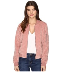 Only Darion Bomber Jacket Ash Rose Women's Coat Pink