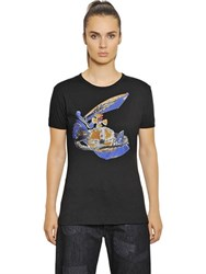 Vivienne Westwood Cotton Jersey T Shirt W Embroidery