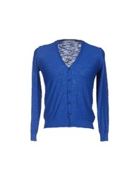 Maestrami Knitwear Cardigans Men Dark Blue