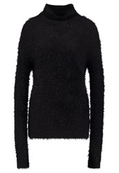 Bik Bok Fluffy Jumper Black