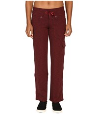 Kuhl M Va Relaxed Fit Pants Syrah Heather Women's Casual Pants Red