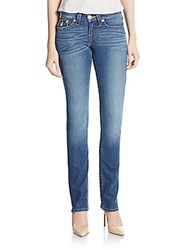 True Religion Slim Straight Leg Jeans Blue