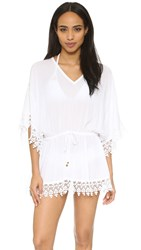 Tory Burch Treville Caftan White