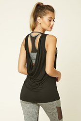Forever 21 Active Cowl Back Tank Top