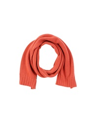 Scaglione Oblong Scarves Red