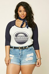 Forever 21 Plus Size West Coast Graphic Tee