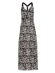 A.L.C. Patti Fan Print Maxi Dress