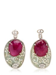Le Sibille Stone Earrings