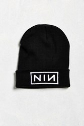 Urban Outfitters Nine Inch Nails Watch Cap Black