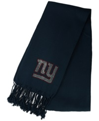 Little Earth Women's New York Giants Pashi Fan Scarf Navy