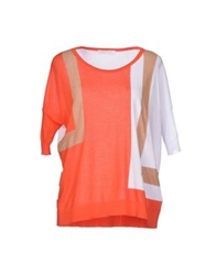 Caractere Sweaters Coral