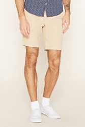 Forever 21 Twill Woven Shorts
