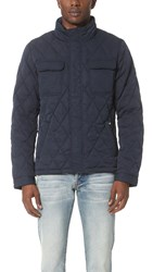 Scotch And Soda Quilted Nylon Jacket Night