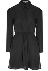 Alice And You Belted Shirt Dress Black