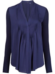 Elie Tahari 'Willow' Blouse Blue
