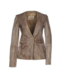 Vintage De Luxe Suits And Jackets Blazers Women Grey