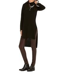 Scotch And Soda Fine Knit Melange Tunic Black