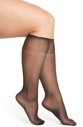Plus Size Women's Charnos Sheer Knee Highs