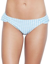 Betsey Johnson Mystic Hipster Bikini Bottom Light Blue