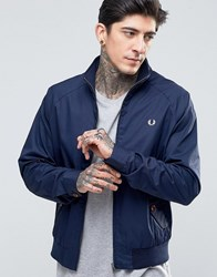 Fred Perry Harrington Jacket In Carbon Blue Carbon Blue