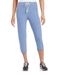 Kensie Cropped Sweatpants Thistle