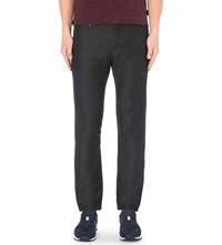 Ted Baker Straight Fit Mid Rise Jeans Black