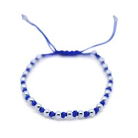 Gideon John Jewellery White Gold Lux Blue Knot